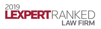 2019 Lexpert Ranked Law Firm
