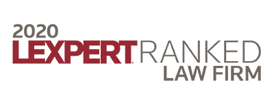 2020 Lexpert Ranked Law Firm
